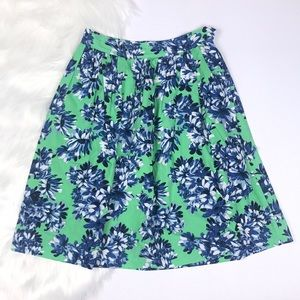 J. Crew Patio Skirt in Photo Floral.